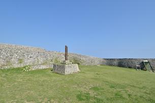 中城城跡(沖縄、世界遺産)の写真素材 [FYI02978429]