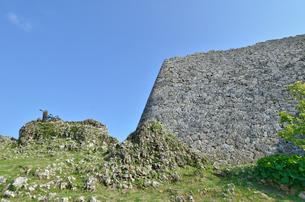 中城城跡(沖縄、世界遺産)の写真素材 [FYI02978437]