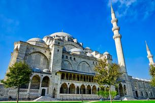 トルコ スレイマニエジャーミー 世界遺産の写真素材 [FYI02978438]