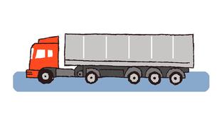 大型トラックのイラスト素材 [FYI02978706]