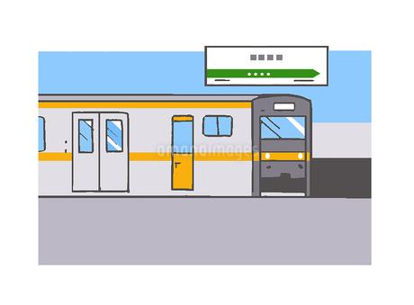 電車のイラスト素材 [FYI02978711]