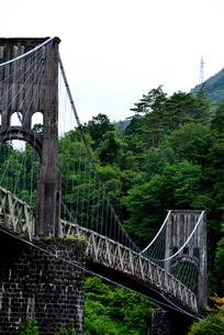 桃介橋の写真素材 [FYI02978721]