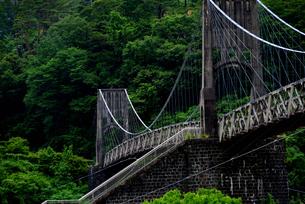 桃介橋の写真素材 [FYI02978722]