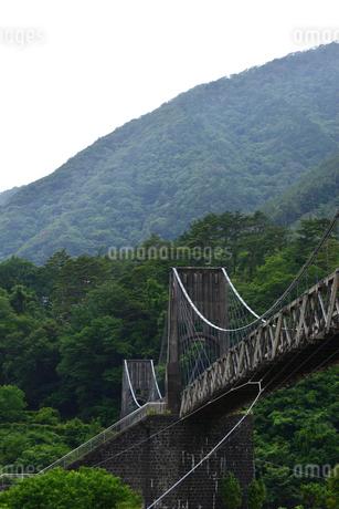 桃介橋の写真素材 [FYI02978723]