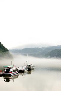 恵那峡 遊覧船の写真素材 [FYI02978738]