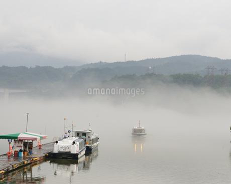 恵那峡 遊覧船の写真素材 [FYI02978740]