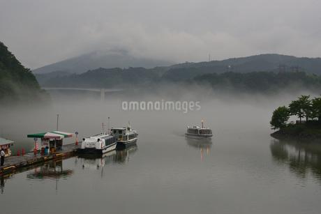 恵那峡 遊覧船の写真素材 [FYI02978741]
