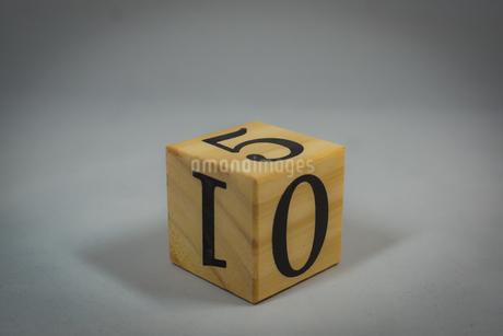 数字が書かれたブロックの写真素材 [FYI02978859]