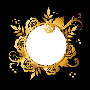 バラ ゴールド 背景のイラスト素材 [FYI02978952]