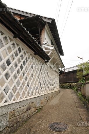 岩村町 なまこ壁の写真素材 [FYI02979233]