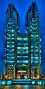 新宿 都庁 の写真素材 [FYI02979304]