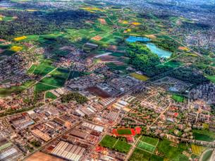 フランス 空撮の写真素材 [FYI02979462]