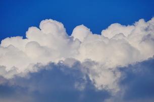 夏空に沸き上がる入道雲の写真素材 [FYI02979733]