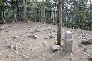 大菩薩嶺の山頂の写真素材 [FYI02979804]
