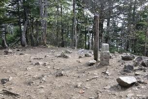 大菩薩嶺の山頂の写真素材 [FYI02979805]
