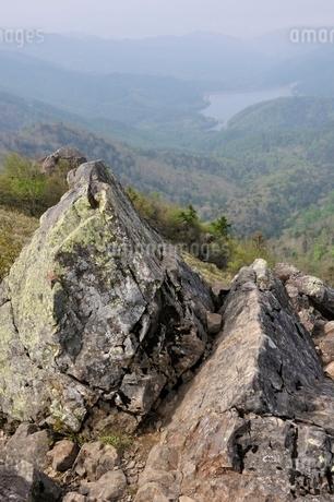 大菩薩嶺 神部岩の写真素材 [FYI02979813]