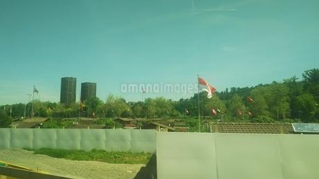 スイス チューリッヒ近郊 家庭菜園 の写真素材 [FYI02979894]