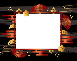 和柄 フレームのイラスト素材 [FYI02979954]