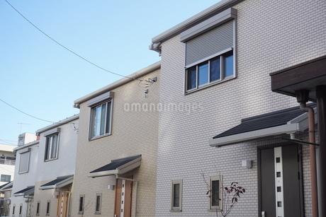 住宅の写真素材 [FYI02980045]