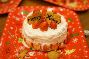 クリスマスケーキのイメージの写真素材 [FYI02980403]