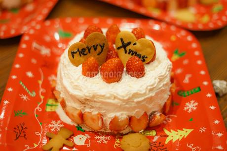クリスマスケーキのイメージの写真素材 [FYI02980404]