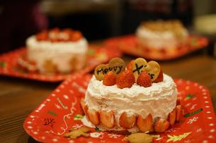 クリスマスケーキのイメージの写真素材 [FYI02980407]
