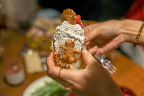 クリスマスケーキのイメージの写真素材 [FYI02980408]