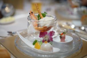 披露宴の食事の写真素材 [FYI02980428]