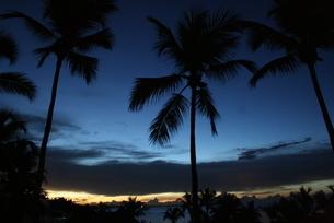 ドミニカの夜明けの写真素材 [FYI02980451]