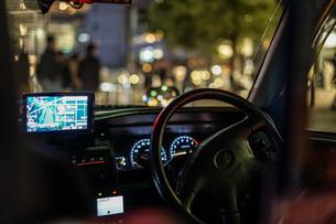 運転席のイメージの写真素材 [FYI02980456]