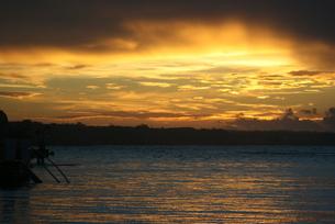 ドミニカの夜明けの写真素材 [FYI02980458]