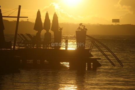 ドミニカの夜明けの写真素材 [FYI02980468]