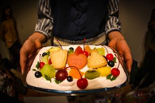 バースデーケーキのイメージの写真素材 [FYI02980518]