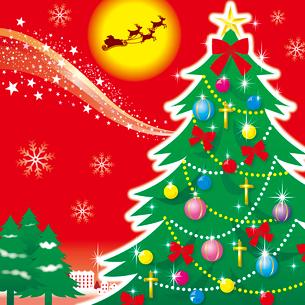 クリスマスイメージのイラスト素材 [FYI02980625]