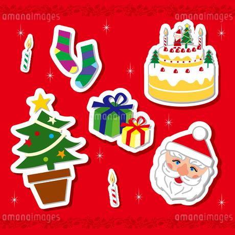 クリスマスモチーフのイラスト素材 [FYI02980626]