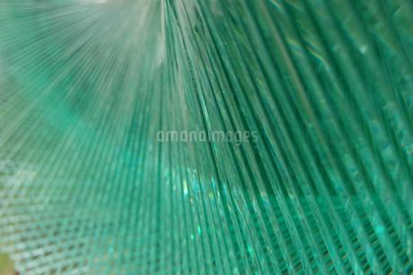 波打つ模様のガラスアートの写真素材 [FYI02980655]