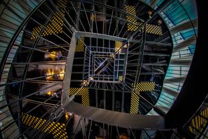螺旋階段のイメージの写真素材 [FYI02981207]