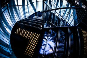 螺旋階段のイメージの写真素材 [FYI02981209]