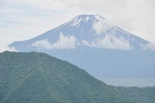 夏富士の写真素材 [FYI02981763]