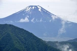 夏富士の写真素材 [FYI02981770]