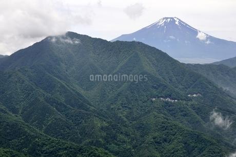 今倉山 松山から望む富士山の写真素材 [FYI02981785]