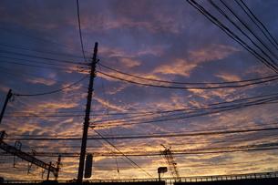 夕景イメージの写真素材 [FYI02981918]