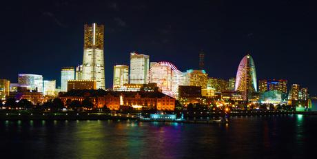 横浜夜景の写真素材 [FYI02981943]