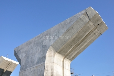 高速道路の建設の写真素材 [FYI02982043]
