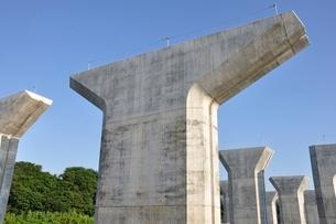高速道路の建設の写真素材 [FYI02982044]