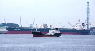 貨物船のイメージの写真素材 [FYI02982086]