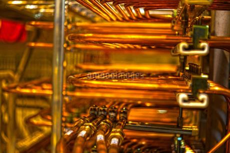 ケーブル・配線イメージの写真素材 [FYI02982102]