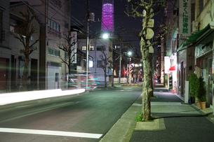 東京の街並みと東京スカイツリーの写真素材 [FYI02982145]