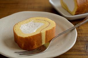 ロールケーキの写真素材 [FYI02982190]