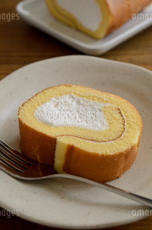 ロールケーキの写真素材 [FYI02982191]
